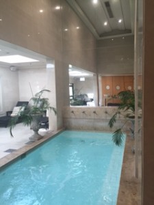 Renaissance Spa indoor heated pool