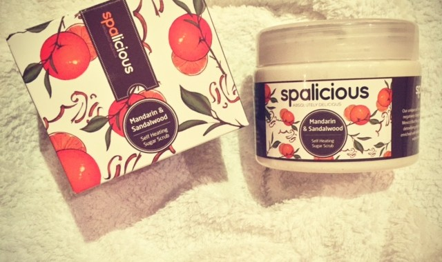 Spalicious Self Heating Scrub Review by The Spa Life