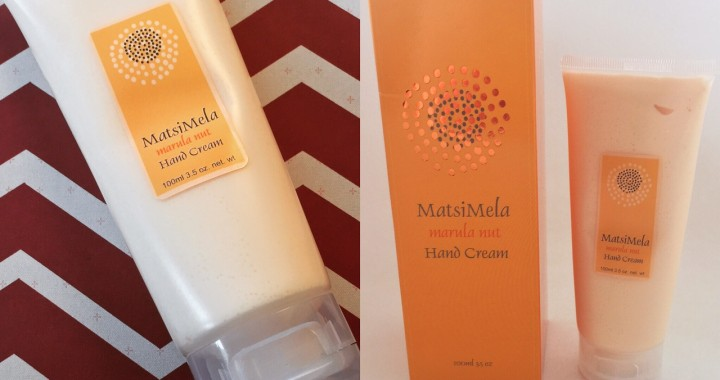 Matsimela Marula Nut Hand Cream Review