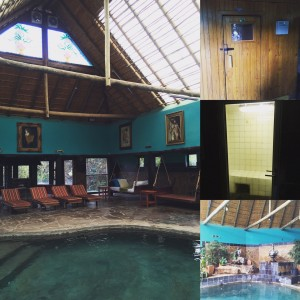 Someone bring the mojitos! Misty Hills Spa In the Country indoor pool, sauna and steam room.